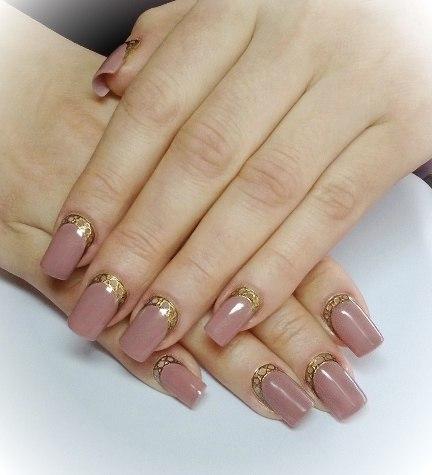 Дизайн ногтей гелями цветными