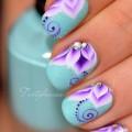 Китайская роспись ногтей