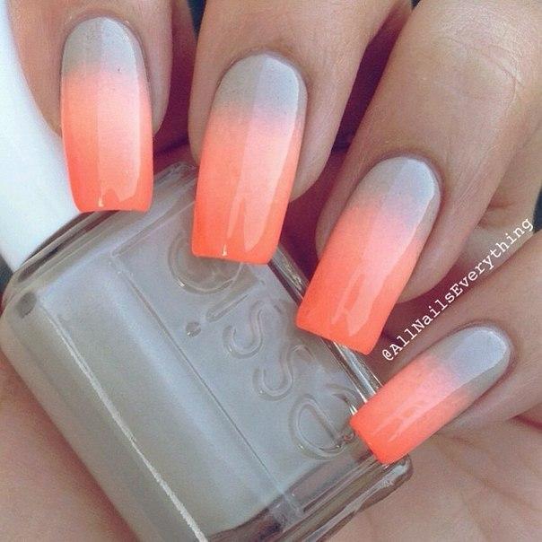 Гель лак на длинных ногтях дизайн