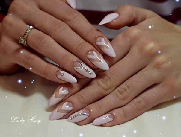 Длинные сексуальные ногти фото 585-703