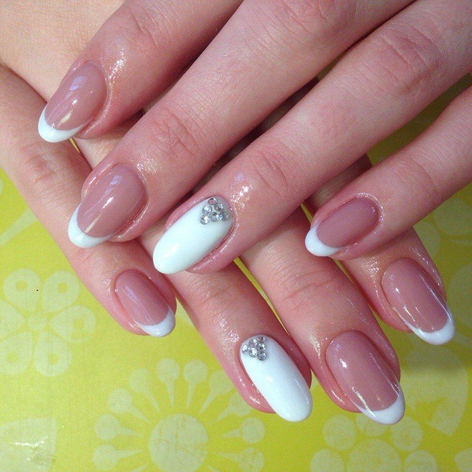 Шеллак Фото Дизайн На Круглые Ногти
