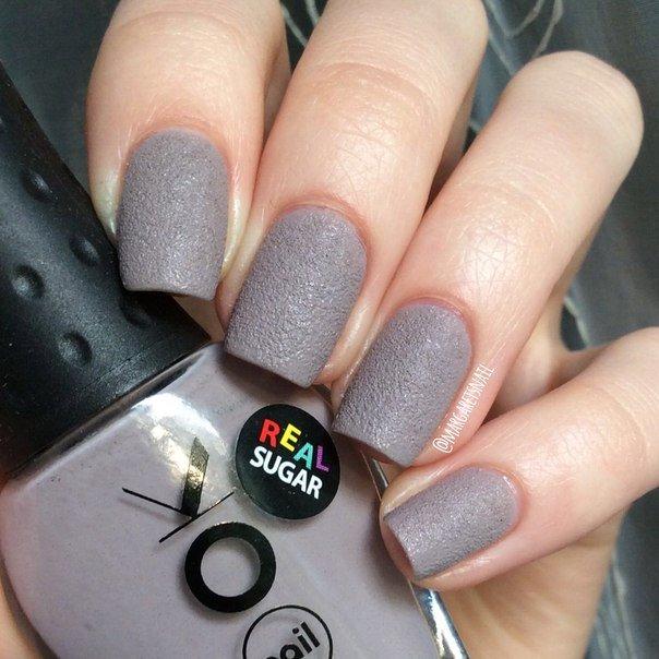 Шилак фото ногтей серый с розовым