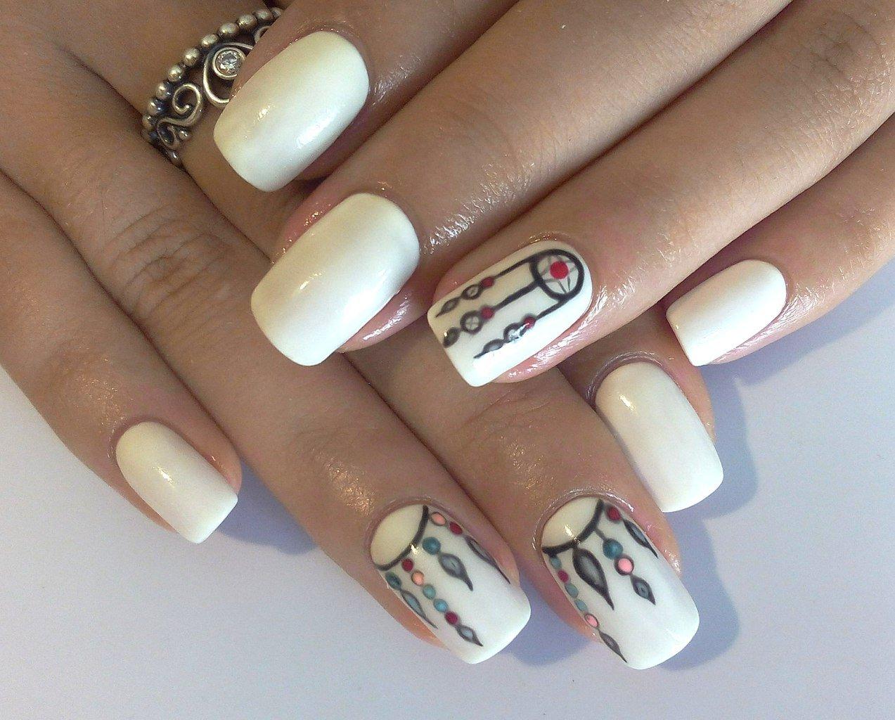 Ногти дизайн индийский фото