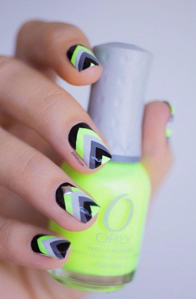 Фото ногти гель-лак интересные лето