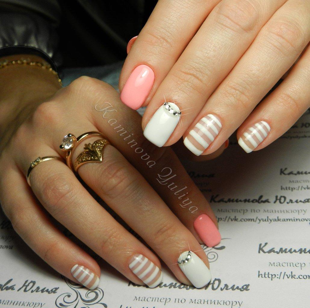Фото новинки 2018 года: дизайн ногтей со стразами - Мой секрет 87