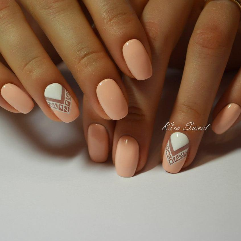 Дизайн ногтей нежный фото