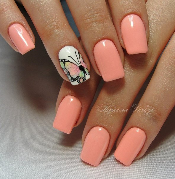 13 Nail Art Ideas For Teeny Tiny Fingertips Photos: фото дизайна