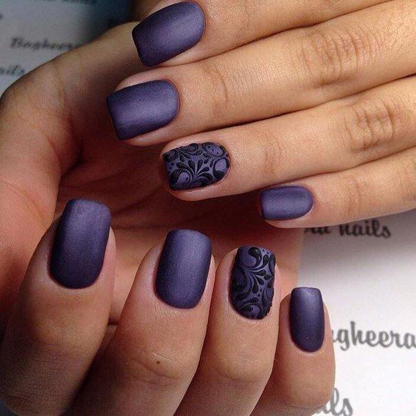 Геометрический дизайн ногтей фото