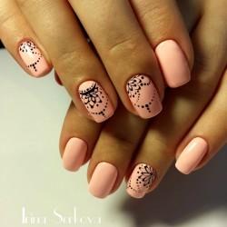 Индийский дизайн ногтей