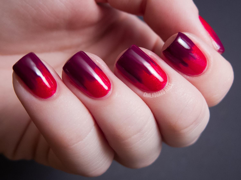 дизайн ногтей в два цвета фото