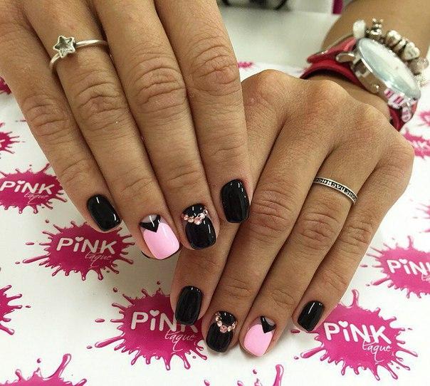Матовый шеллак дизайн ногтей лучшие работы 2017 на короткие ногти