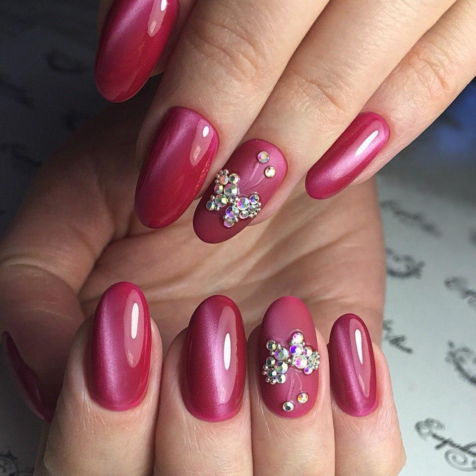Как рисовать на нарощенных ногтях акриловыми красками