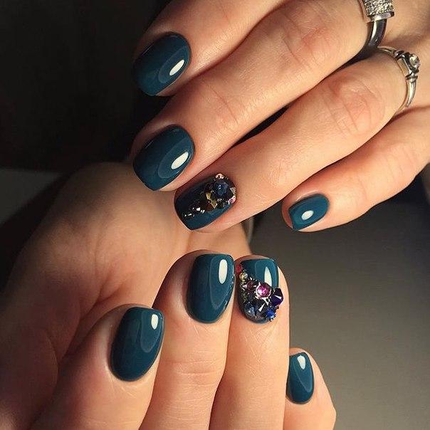 Дизайн ногтей шеллаком (фото) - фото и описание примера 10