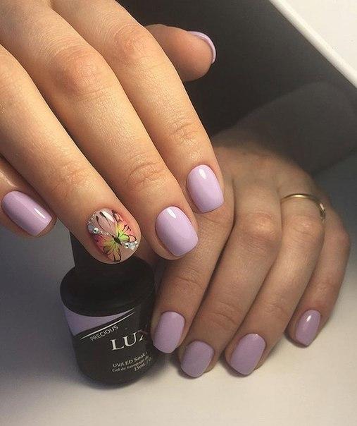 Дизайн ногтей шеллаком (фото) - фото и описание примера 23