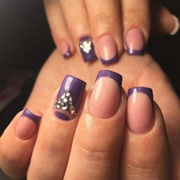 Покрытие рисунком своих коротких ногтей