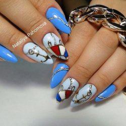 Дизайн ногтей в отпуск фото
