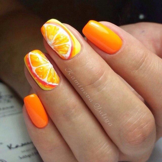 Фото ногти яркий дизайн ногтей