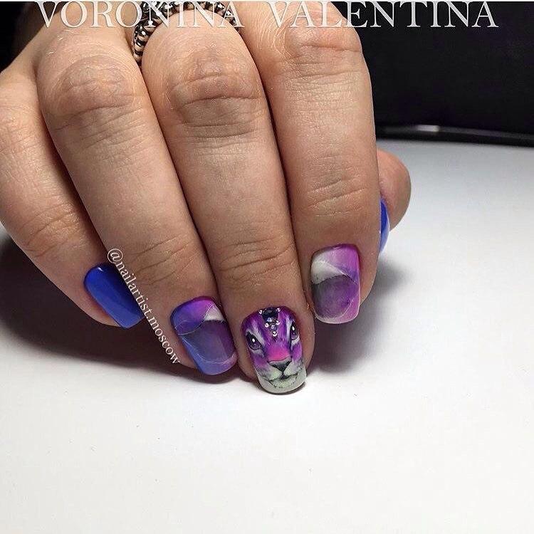 Летний дизайн ногтей гель лаком 2017 фото