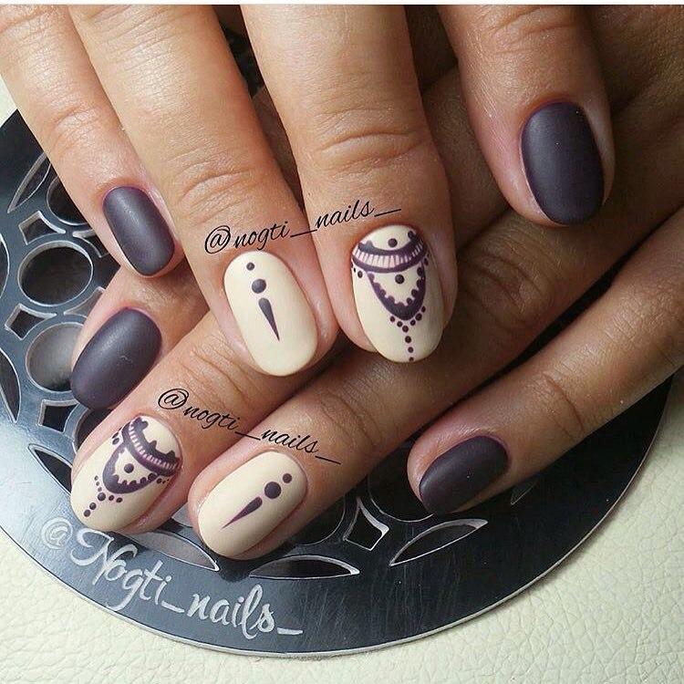 Кофейный маникюр: фото дизайна ногтей и маникюр кофейного