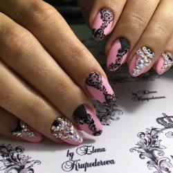 Дизайн овальных ногтей фото