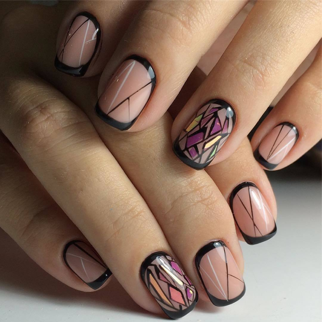 дизайн ногтей френч фото 2016