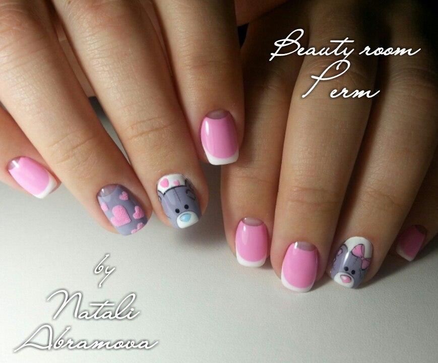 Фото дизайн детских ногтей