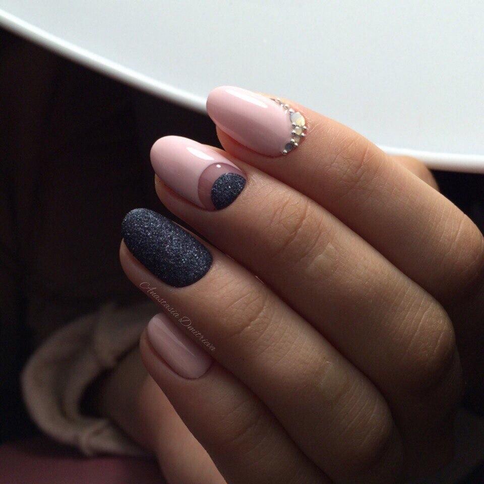 Ногти круглой формы 2017