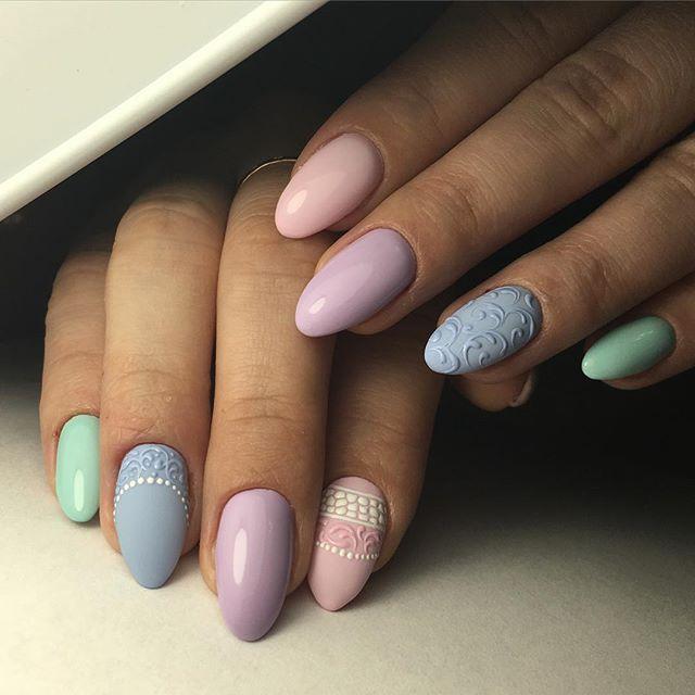 Изящный дизайн ногтей