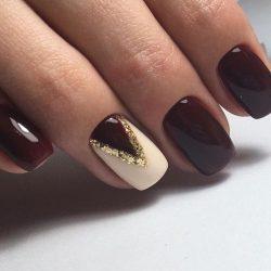 Вечерние ногти фото