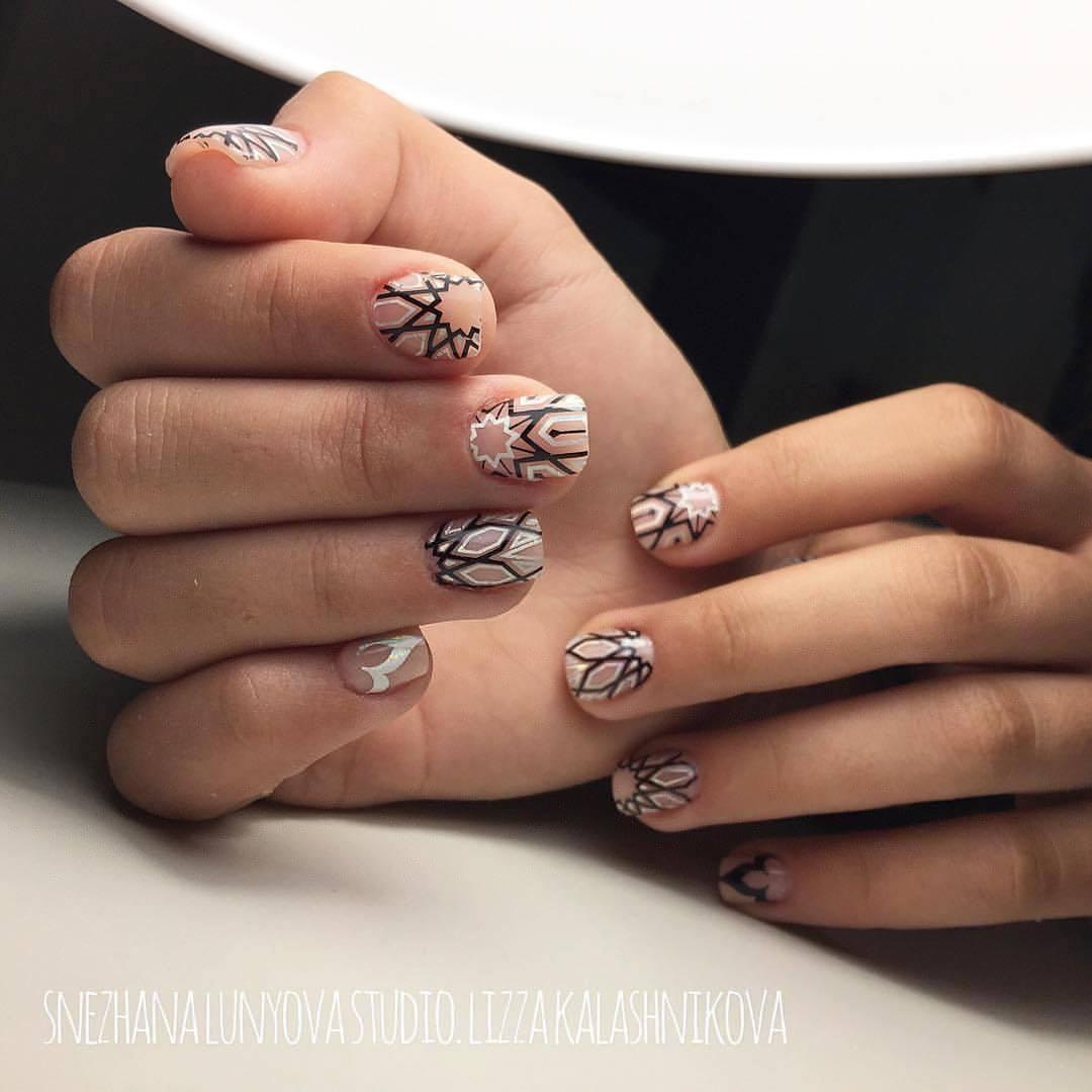Дизайн ногтей с рисунком - фото идей дизайна ногтей - Best Маникюр 97