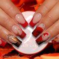 Осенние ногтики