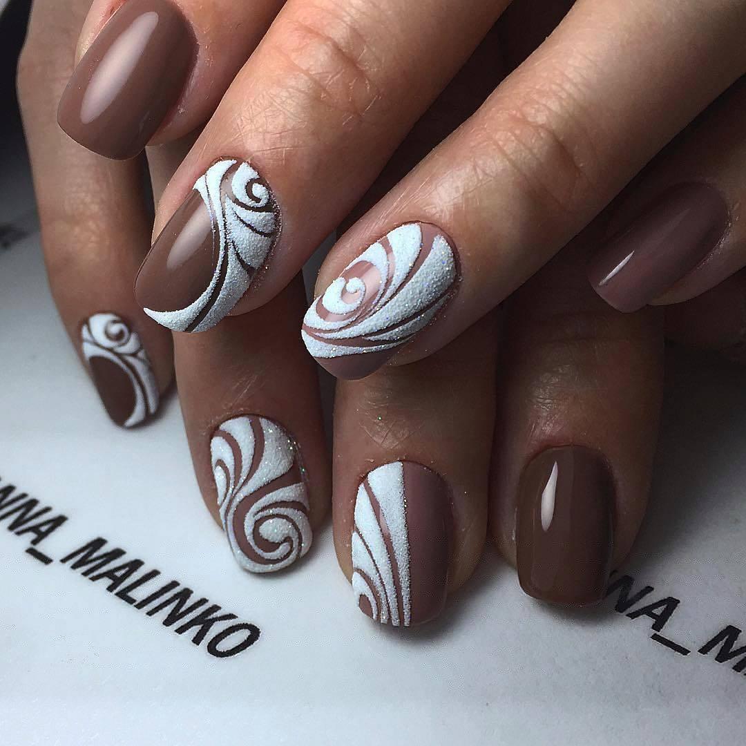 Дизайн ногтей новинки френч весна лето
