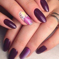 Идеи маникюра на овальные ногти фото