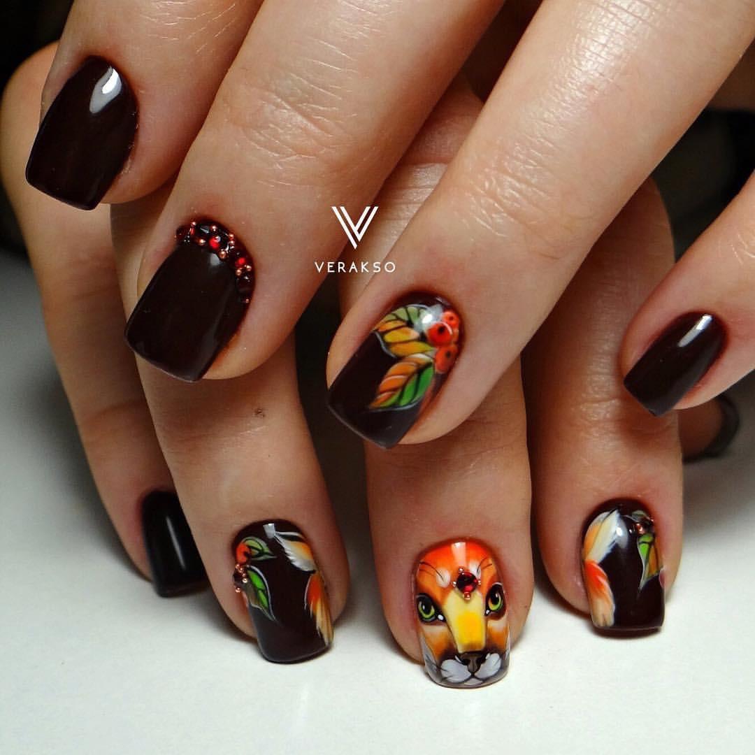 Дизайн ногтей гель-лаком 88