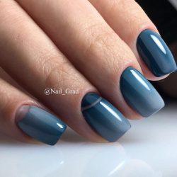 Дизайн ногтей омбре фото