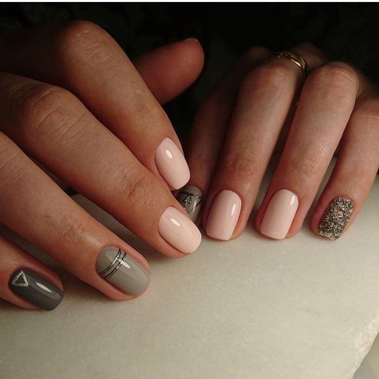 Идеи Темного Маникюра На Длинные Ногти