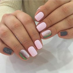 Дизайн ногтей с переходом фото