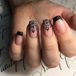 Красивые узоры на ногтях фото
