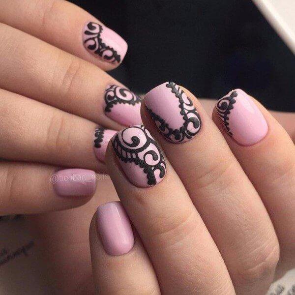 дизайн на короткие ногтей