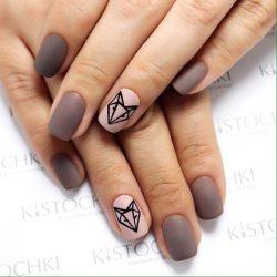 Идеи осеннего дизайна ногтей фото