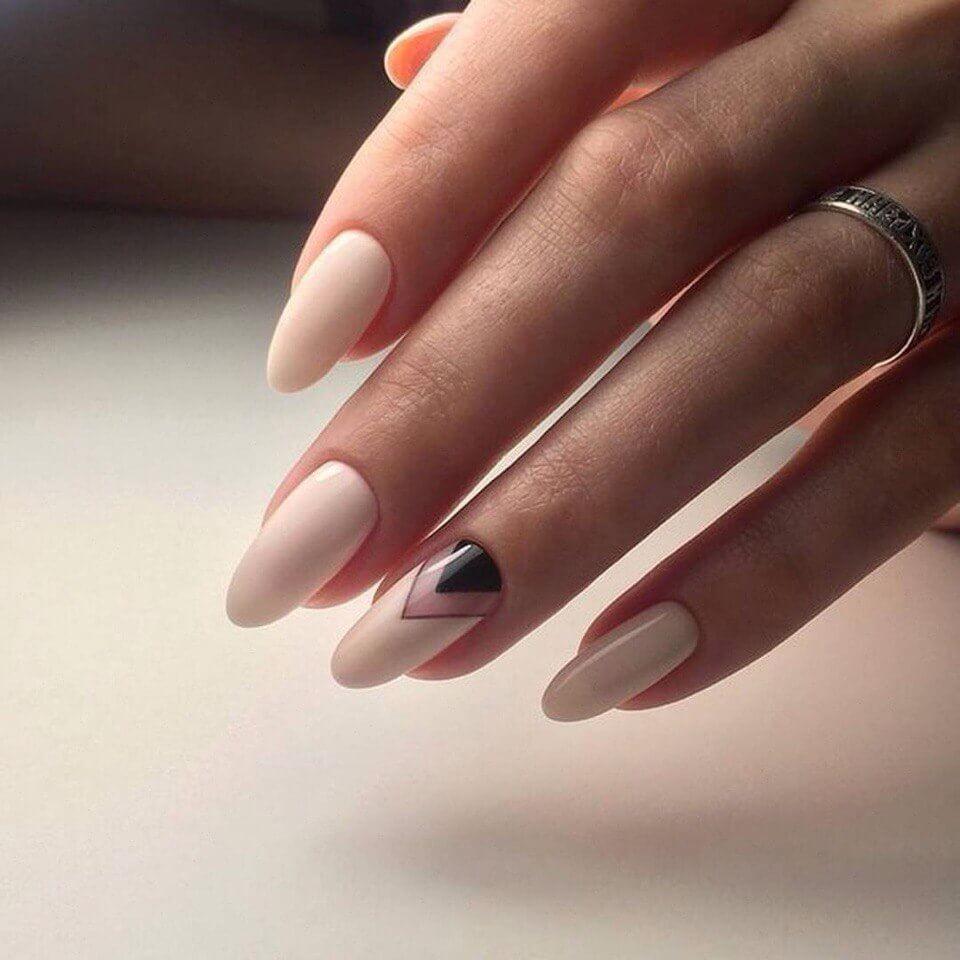 Дизайн для овальных ногтей