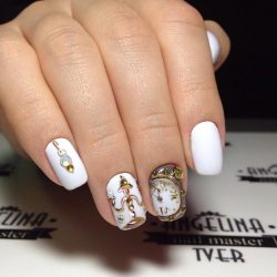 Яркие ногти фото