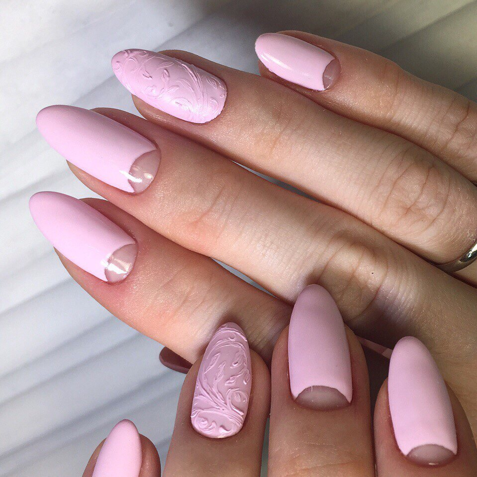 Лунки на ногтях дизайн