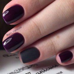 Глянцевый дизайн ногтей фото