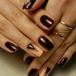 Вечерний дизайн ногтей фото
