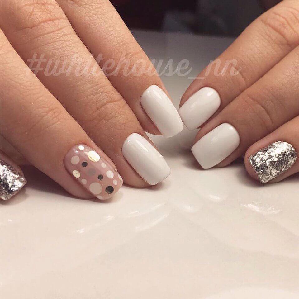 Розовый маникюр — идеи нежного дизайна ногтей изоражения