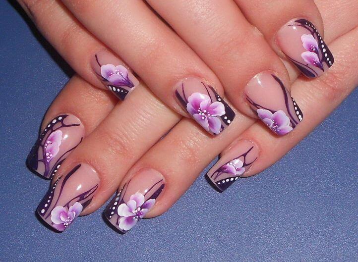 Красивые росписи ногтей