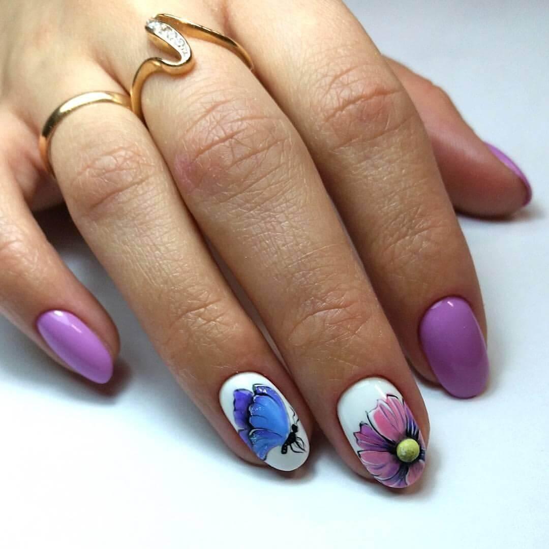 Модный дизайн ногтей шеллак 2017