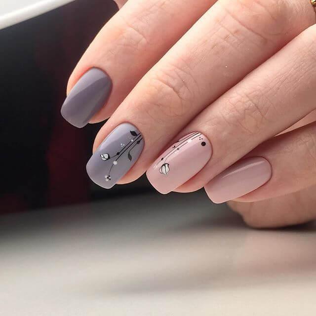 Дизайн ногтей на длинные квадратные ногти 2017-2018