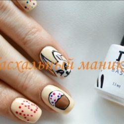 Дизайн ногтей с рисунком фото